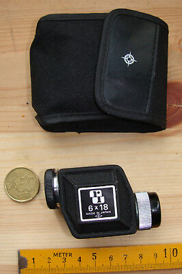 MONOCULAR 6X18 MADE IN JAPAN Mini-Fernglas