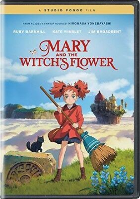 Mary And The Witch's Flower (Ruby Barnhill Kate Winslet) & Witchs New DVD