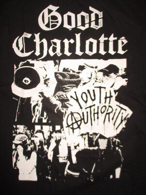 """Hot Topics Label - GOOD CHARLOTTE"""" Youth Authority"""" Concert (MED) T-Shirt w Tags"""