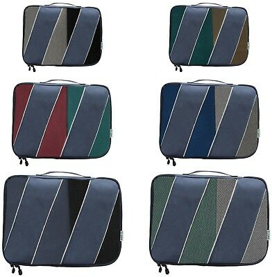 Set of 6 Packing Cubes for Luggage Optimization,  Multiple Sizes-  by Velette