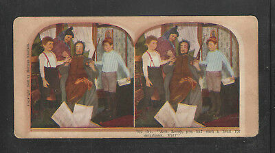 700 (b) ACH LOOEY YOU HAF SUCH A HEAD FOR SMARTNESS VAT ? COMIC STEREOVIEW CARD