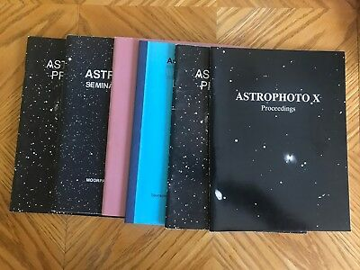 Astrophoto books from Seminars on how to take Astrophotos rare