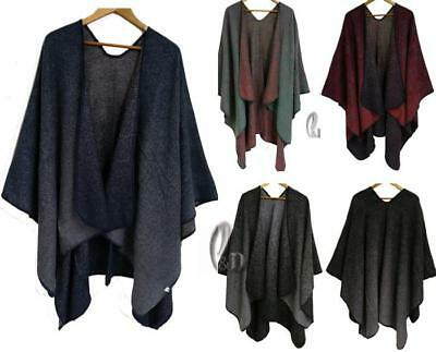 WHOLESALE BULK LOT OF 10 MIXE Style Blanket Poncho Cloak Warm SCARF/SHAWL sc073