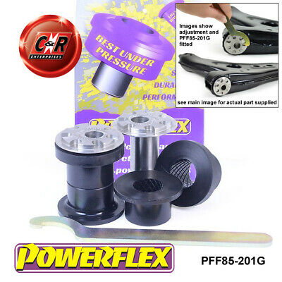 VW Polo 6R/6C 09-17 Powerflex Front Wishbone Front Bushes Camber Adj PFF85-201G