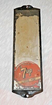 Vintage Real  7 UP Likes You Advertising MIRROR Soda