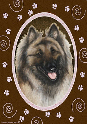 Large Indoor/Outdoor Paws Flag - Belgian Tervuren 17083