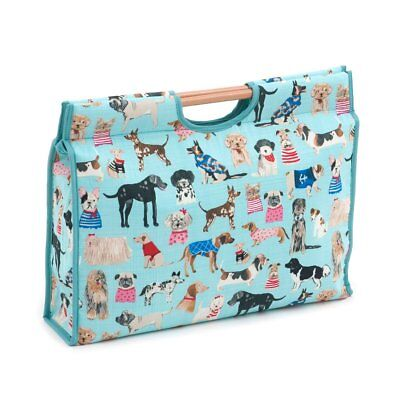 Hobby Gift 'Dogs in Jumpers' Knitting Craft Bag (d/w/h): 11 x 42 x 30cm