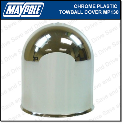 Maypole Chromed Towball Cover Cap Hitch Towbar Towing Trailer Caravan MP130