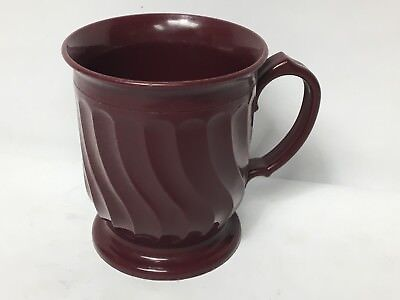 Turnbury Dinex 3000 Cranberry DX3000 Insulated Cup Mug Plastic Melmac Melamine