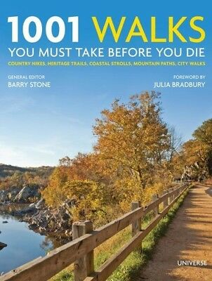 1001 Walks You Must Take Before You Die - Barry Stone (, Book New)