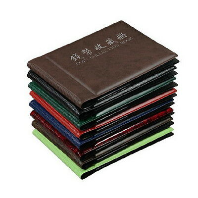 60 Coins Album Coin Money Penny Collecting Book Holders Collection Storage TO