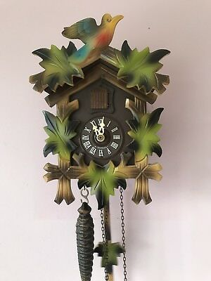 Vintage 1980's Working Cuckoo Clock. Made In West Germany By Helmut Kammerer.