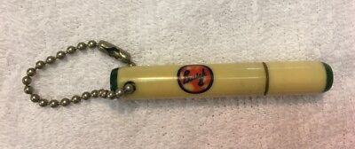 Vintage Buick 8 Logo Hollow Keychain, La Cross, WI Dealer