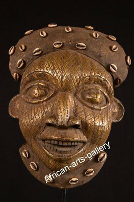 197 Antique Helmet Mask of the Bamun Cameroon/Cameroon Africa
