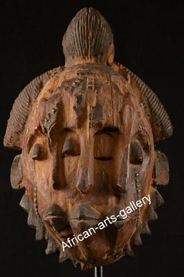 1324 Old Mask of Lengola DR Congo / Congo Africa