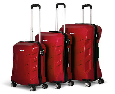 Pierre Cardin Expandable 3-Piece Hardshell Super Light Luggage - Shiraz