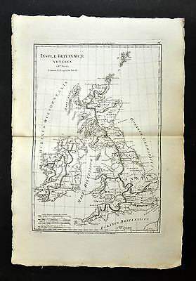 Great Britain and Its Iles Map Geographic Former, Old Antic Map 1787