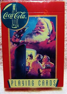 Coca Cola playing cards 1995 sealed pack.Condition shown.Free shipping