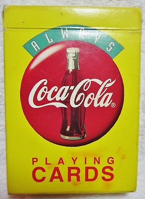 Coca Cola playing cards 1994.Condition shown.All cards present.Free shipping