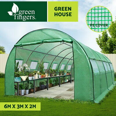 Greenfingers 3X2X2M Walk In Greenhouse Tunnel Plant Garden Storage Grow Sheds