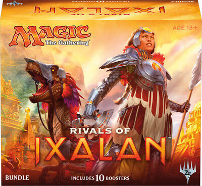 Magic the Gathering Rivals of Ixalan Sealed Fat Pack Bundle Box
