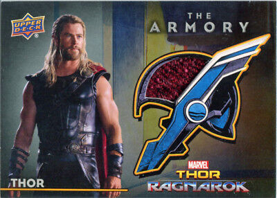 Thor Ragnarok Movie AS-11 Costume Card Chris Hemsworth as Thor