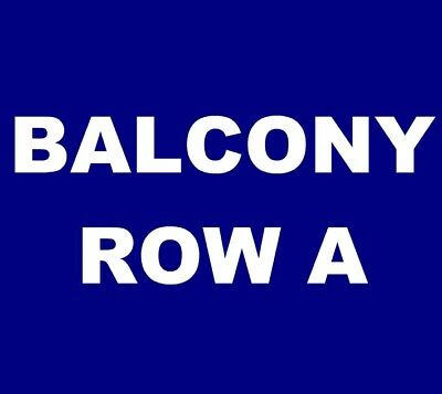 Juanes tickets Rosemont Theatre Chicago 5/1 *** BALCONY 206, ROW A! ***
