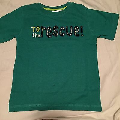 Gymboree Monstro-politan Boys T-shirt Size 3T To The Rescue Nwt
