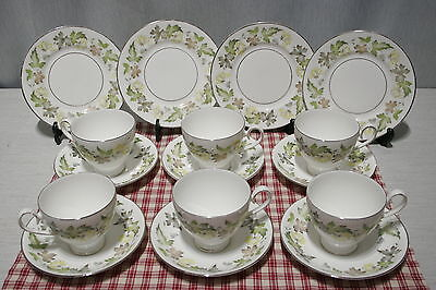 LOT of Ridgway MOSELLE: 6 Sets Cups and Saucers, 4 Bread and Butter Plates