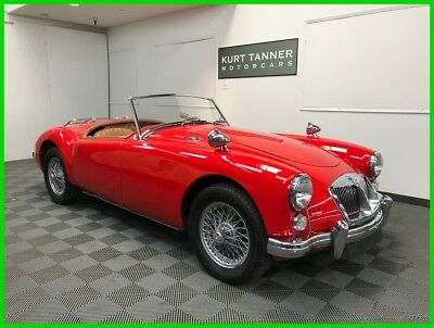 MG MGA MKII ROADSTER. 1800cc MGB ENGINE 1962 MGA 1600 MK2 ROADSTER. EXCELLENT BODY-ON RESTORATION SHOWING/DRIVING WELL.