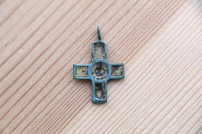 Viking Kievan Rus Pendant Cross with different sides 10-11 AD