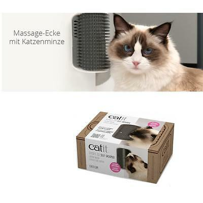 Catit Senses 2.0 Massage-Ecke, self groomer mit CatNip ( Katzenminze ) 43152W