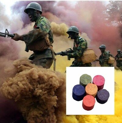 Colorful Smoke Cake Smoke Effect Show Bomb Round Photography Aid Toy Divine Hot!