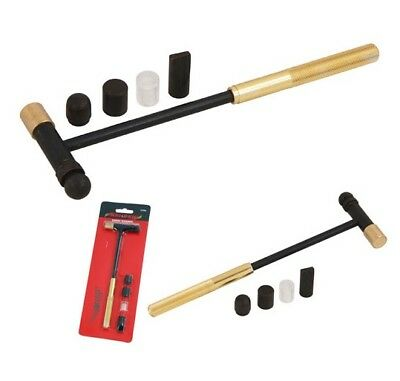CT4286 7PC Hobby Hammer Set Screw On Multi Heads Tips Crafts & Jewellery Making