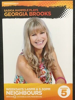 Saskia hampele georgia neighbours uk channel 5 cast fan card rare saskia hampele georgia neighbours uk channel 5 cast fan card rare thecheapjerseys Choice Image