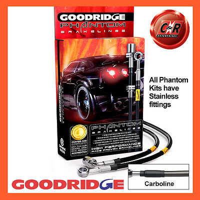 VW GOLF MK6 FWD ant. + MIDS GOODRIDGE INOX CARBO tubi freno svw0620-4c-cb