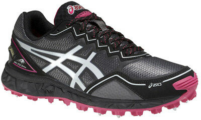 Asics Gel FujiSetsu GTX Ladies Winter Running Shoes - Grey