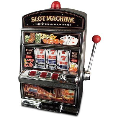 Slot Machine One Arm Bandit Armed Tokens Kids Toy