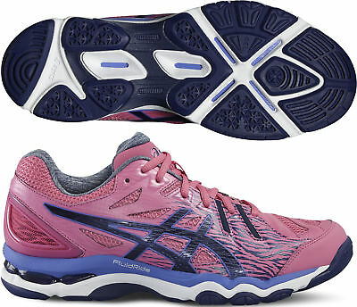 Asics Gel Netburner Super 6 Ladies Netball Shoes - Pink