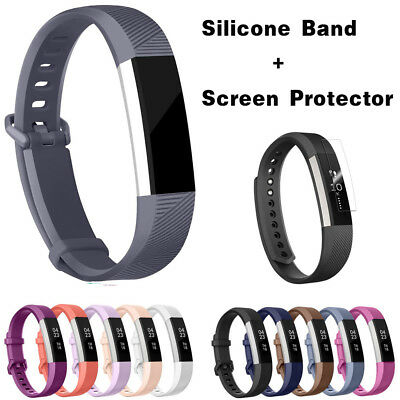 Replacement Silicone Wrist Band Strap For Fitbit Alta/ Fitbit Alta HR Bands S L