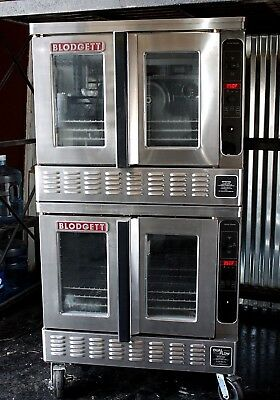 Blodgett DFG-200 BAKERY DEPTH Double Full-Size Gas Convection Oven PULSE