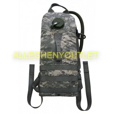 Military Molle 3L 100 oz Hydration System Carrier Backpack with Bladder ACU NEW