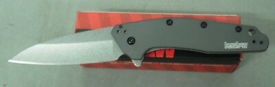 Kershaw Knife 1812Gry Grey Dividend Assisted Folder Usa Made New