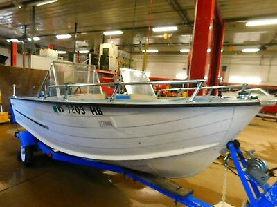 16' Starcraft SS16 45HP Mariner Outboard w/Trailer T1273909