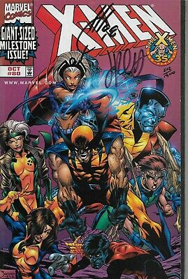 X-Men No.80 / 1998 Dynamic Forces Joe Quesada Variant Cover with Certificate