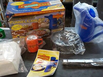 The All American Funnel Cake 6 Piece Kit
