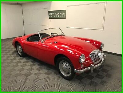 MG MGA 1500 Roadster 4 - Speed 1957 MGA 1500 ROADSTER. OLDER RESTORATION STILL DRIVING AND SHOWING WELL