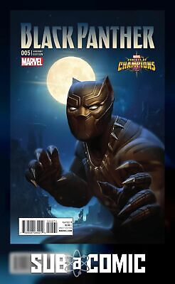 Black Panther #5 Kabam Contest Of Champions Game Variant (Marvel 2016) Comic