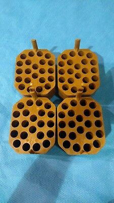 4 x Thermo 75003673 15mL Swinging Bucket Adapters for 75003668 Centrifuge Rotor