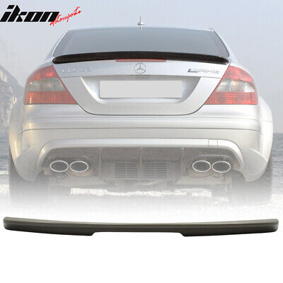 02-09 UNPAINTED MERCEDES BENZ C209 A type ABS TRUNK SPOILER CLK55 63 AMG COUPE
